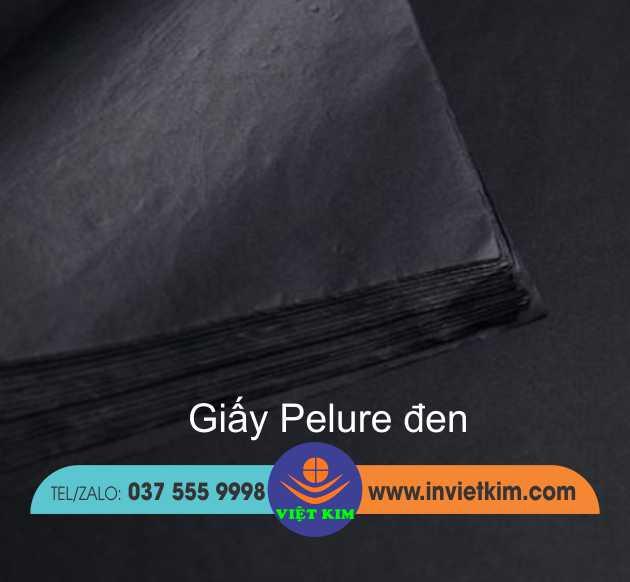 giấy gói quấn áo màu đen