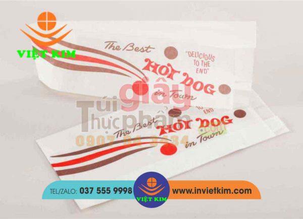 chất liệu giấy MG in túi bánh thực phẩm